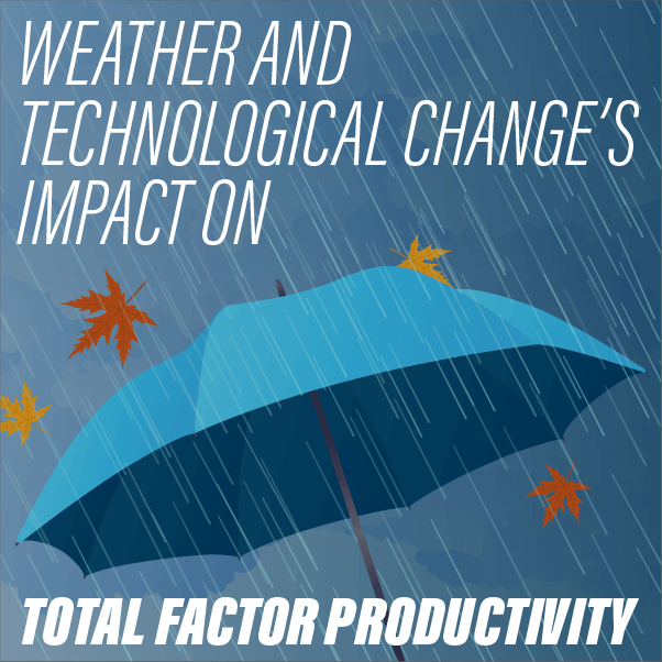 Weather and Technological Change's Impact on Total Factor Productivity