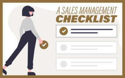 A Sales Management Checklist