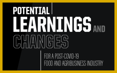 Potential Learnings and Changes for a Post-COVID-19 Food and Agribusiness Industry