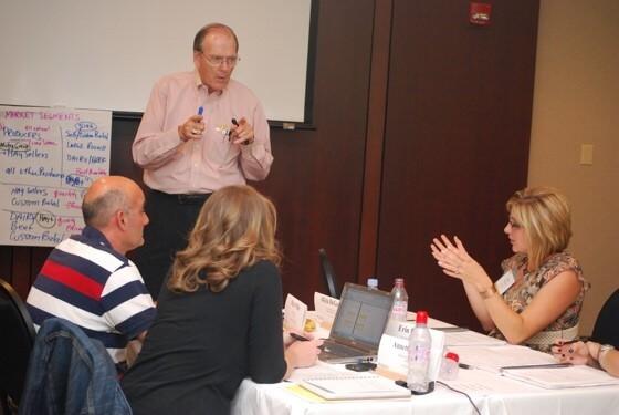 Dave Downey teaches in Strategic Agri-Marketing, 2011.