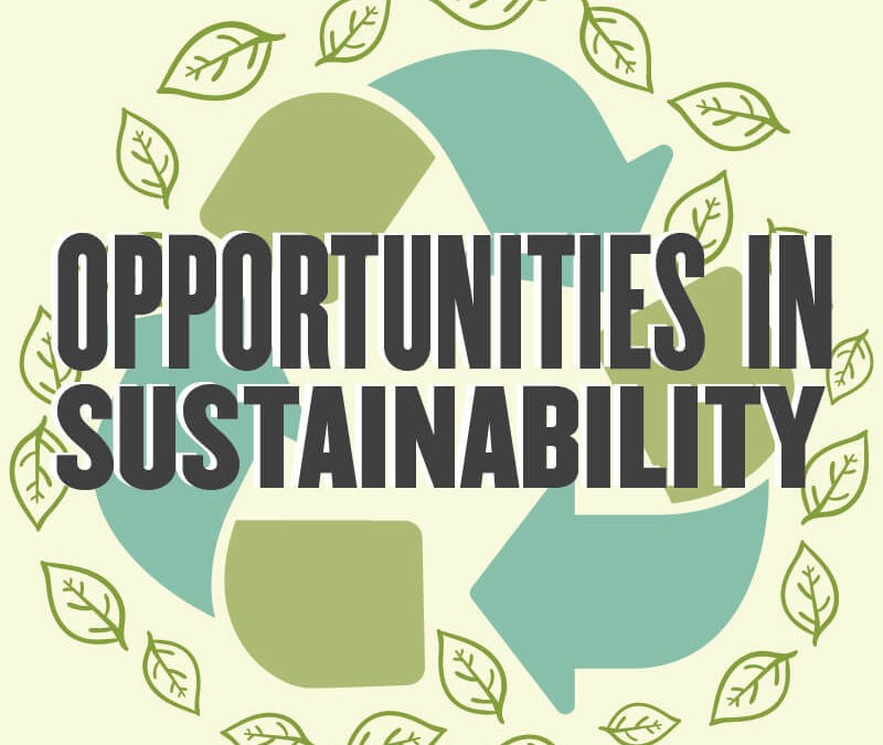Opportunities in Sustainability