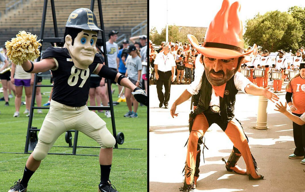 A Tale of Two Petes…Purdue Pete and Pistol Pete (OSU) Territories: COVID-19 Impacts and Mask Usage Beliefs